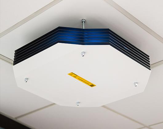 Instalacija UV C dezinfekcionih svetiljki - Mašinoprojekt Kopring doo