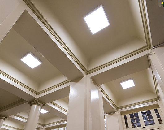 ETŠ Nikola Tesla - Instalacija novog LED osvetljenja